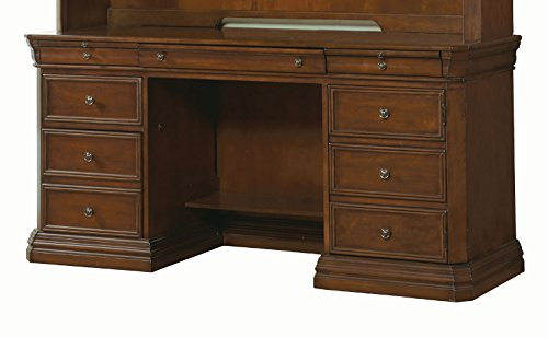 Hooker Furniture Cherry Creek Computer Credenza Desk in Brown