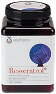 youtheory Resveratrol Advanced Anti-Aging Formula, 0.80 Pound ( Multi-Pack)