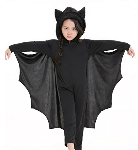 COOLJOY Kids Unisex Vampire Bat Costume, Jumpsuit Halloween Cosplay Costume, Party Animal Costume Ou - http://coolthings.us