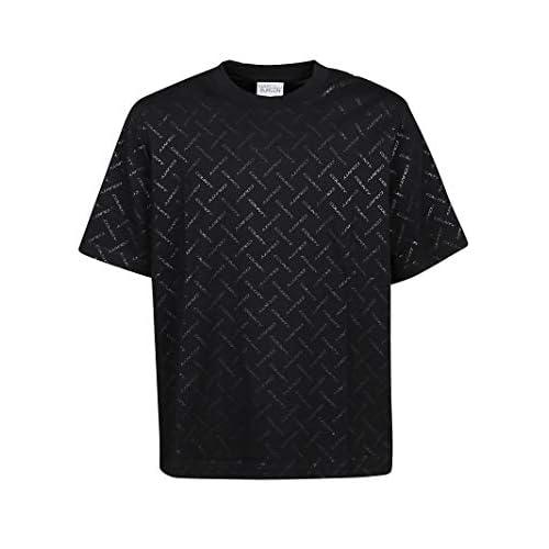 MARCELO BURLON Luxury Fashion Uomo CMAA054E20JER0021010 Nero Cotone T-Shirt | Autunno-Inverno 20