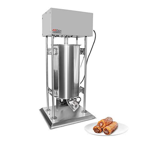 ALDKitchen Churro Maker   Máquina Churro Eléctrica Tipo Vertical   Acero Inoxidable   Capacidad 15L   Control de...