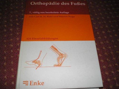 Orthopädie des Fußes