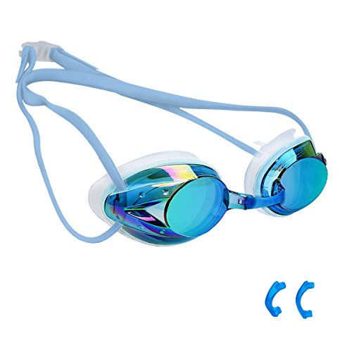 COPU Anti-fog Swimming Goggles for Adult & Kids 10+, No Leaking Silicone...
