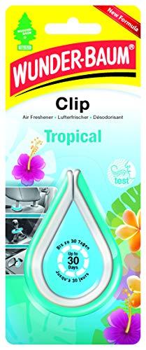 Wunderbaum 97183 Lufterfrischer Clip Tropical