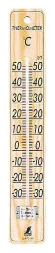 シンワ 寒暖計 サーモC-5パイン 72590