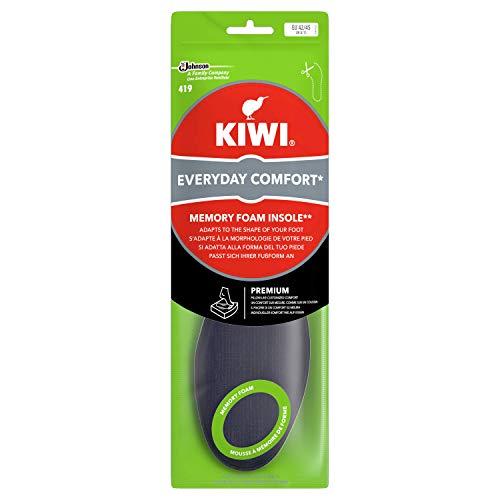 Kiwi Soletta Memory Foam per Scarpe Uomo, Uso Quotidiano, Taglia 42-45 EU, 1 Paio