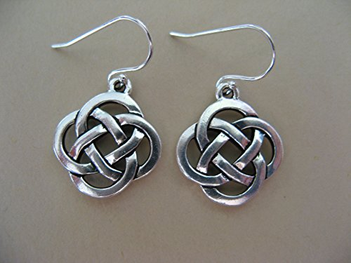 Celtic Knots on Sterling Silver Earrings