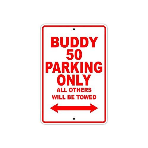 BorisMotley Echte Scooter Buddy 50 Parkeergelegenheid Alleen Alle Anderen Worden getrokken Motorfiets Nieuwigheid Garage Aluminium 8