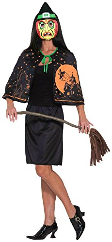 Women's Black Witch Costumes - Forum Novelties Women's Retro Witch Costume,