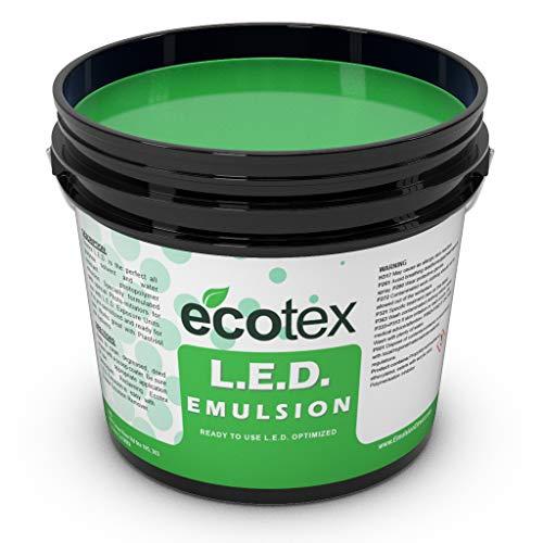 Ecotex L.E.D. - Textile Pure Photopolymer Screen Printing Emulsion (1 Quart)