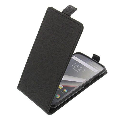 foto-kontor Tasche für Phicomm Clue L Smartphone Flipstyle Schutz Hülle schwarz