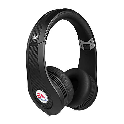 Monster MVP Carbon by EA Sports OnEar Gaming-Headset (PS3, Xbox 360, Wii, PC) schwarz