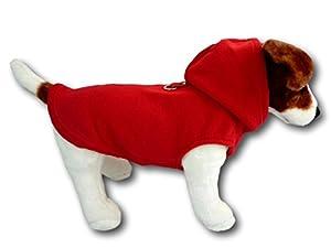 Gilet Harnais de chien Polaire à capuche Pull Manteau pour chiens de petite taille, différentes tailles et couleurs
