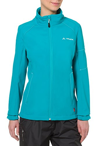 VAUDE Damen Jacke Women's Cyclone Jacket IV, Alpine Lake, 38, 04688