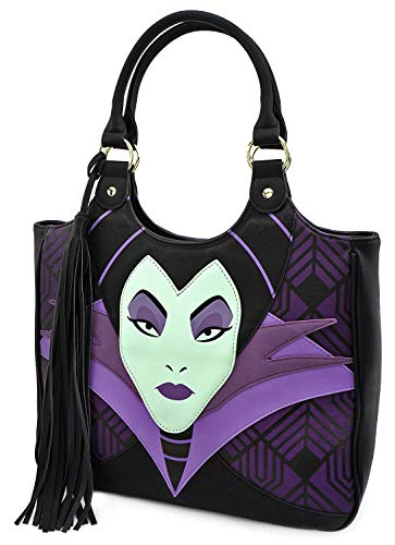 Loungefly Maleficent Faux Leather Handbag Standard, Black