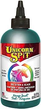 Unicorn SPiT Navajo Jewel 5771011 Gel Stain & Glaze 8 Ounce Bottle