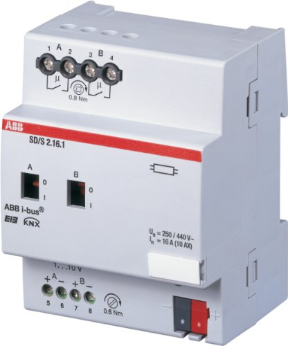 ABB SD/S2.16.1 DIMMER/ON-OFF,2CAN,16A(1-10V)