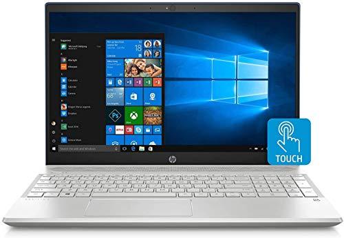 HP Pavilion 15.6-inch HD Touchscreen Premium Laptop PC, AMD Quad Core Ryzen 7 3700U Processor, 12GB DDR4 Memory, 512GB SSD, Bluetooth, Windows 10, Silver