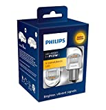 Philips automotive lighting 11498XUAXM LED foco de señalización para automóvil (PY21W amber), Naranja, Set de 2
