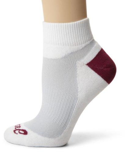 ASICS Stratus Half Quarter Socken (Weiß/Haze/Pflaume, X-Large)