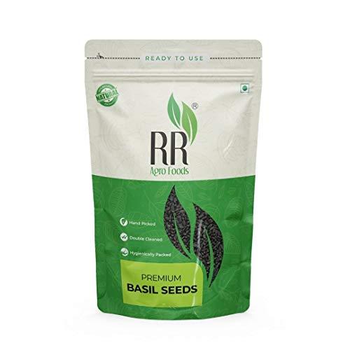 R R Agro Foods Basil Seeds | Tukmariya | Sabja for Weight Loss (500 GMS)