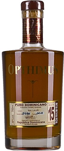 Opthimus 15 Year Rum, 0.7 Litre