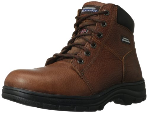 Skechers for Work Men's Workshire Relaxed Fit Work Steel Toe...