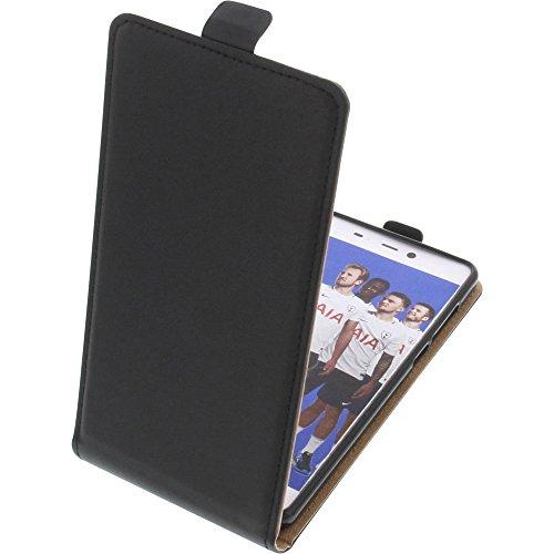 foto-kontor Tasche für Leagoo T5C Smartphone Flipstyle Schutz Hülle schwarz