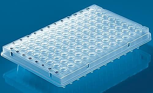 Brand - 96 Well PCR Half Daily bargain sale Plate- 2021 model PP- Skirt PK50