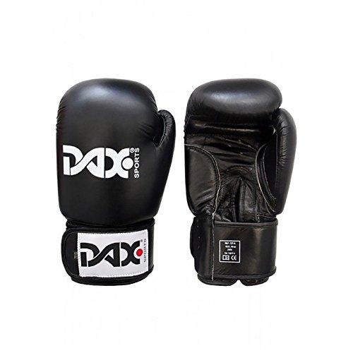 DAX Boxhandschuhe TT Leder Schwarz