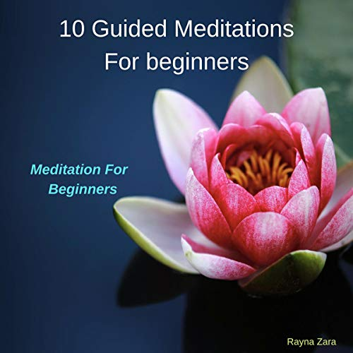 10 Guided Meditations for Beginners audiobook cover art