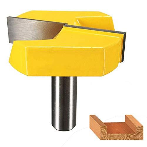 Fortspang - Broca para fresadora (vástago 1/2, broca de limpieza inferior, 2-1/4...