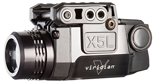 Viridian X5L Green Laser Sight and Tac Light, Universal Rail Mount, ECR Instant-On, Multiple...