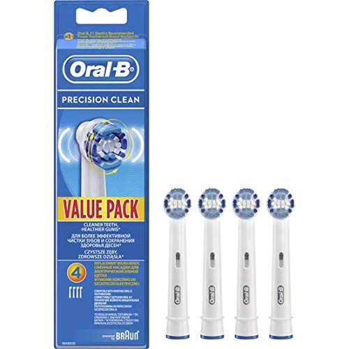 Price comparison product image Braun Precision Clean Replacement Toothbrush Heads,  Pack of 4