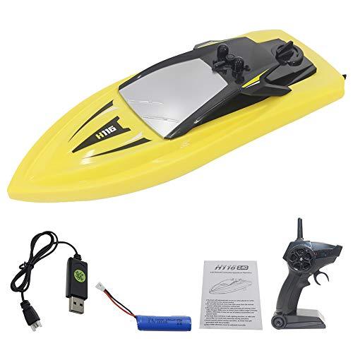 Barca del rc Barca Telecomandata Motoscafo RC Boat RC Boat, 2.4G High Speed Mini RC Boat Racing Remote Control Remote Boats per Piscine E Laghi Pond Garden