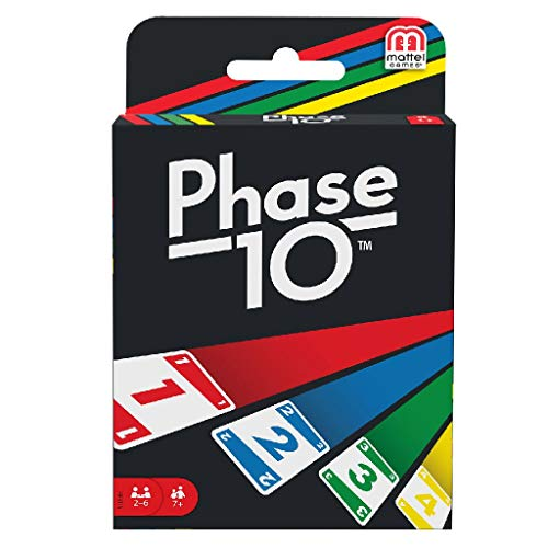 Mattel Games Phase 10, Gioco di Carte, FFY05