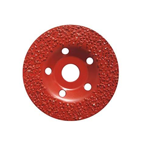 TOROFLEX Disco abrasivo especial 115 mm x 22,23 mm, K14 para goma, plástico, madera, moqueta, adhesivo y para el cuidado de pezuñas/garras – apto para todas las amoladoras angulares de 115 mm