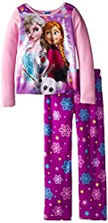 Big Girls' Frozen Fleece Sleep Set