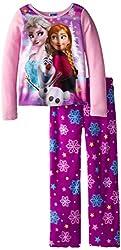 Big Girls' Frozen Fleece Sleep Set