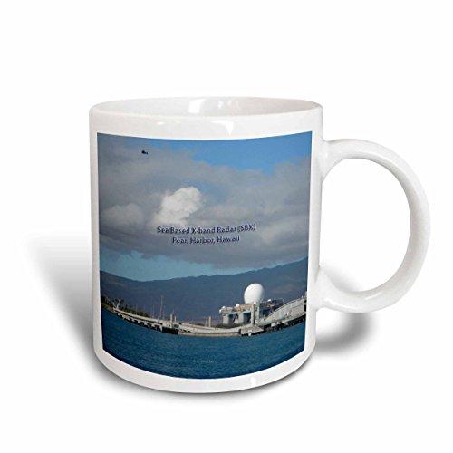 3dRose-auf-x-Band (SBX Harbor, Hawaii mit–Kaffeebecher, Keramik, Weiß, 10.16cm x 7,62x-Uhr