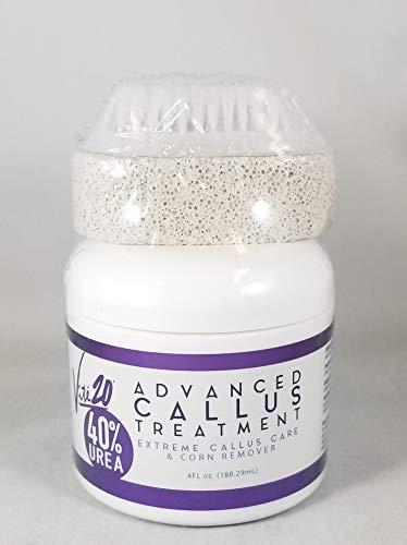 Urea 40%, Advanced CALLUS Treatment, Extreme callus care & corn remover, 4 FL oz.