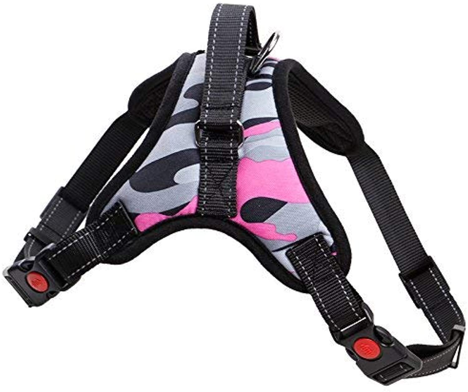 Luciphia The Original Control Dog Harness No Pull & No Choke Design, Luxurious Padded Vest, EcoFriendly