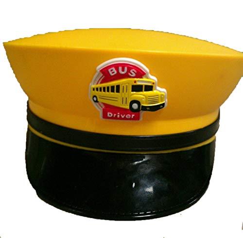 Funny Fashion Busfahrermütze - Erwachsene Zubehör Hut, Gelb