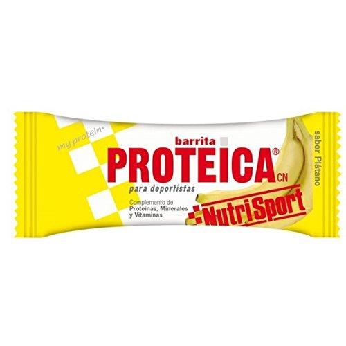 Nutrisport Barrita Proteica 24 x 46g Plátano