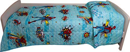 Disney Marvel Trapuntino per letto singolo disegno Spiderman 170 x 250 centimetri