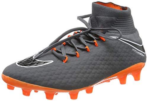 Nike Herren Phantom 3 Pro Df Agpro Fitnessschuhe, Mehrfarbig (Dark Grey/Total Oran 081), 44.5 EU