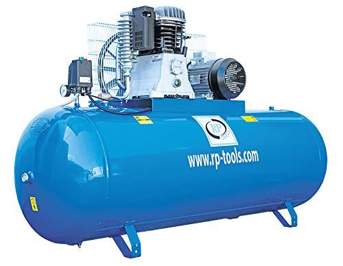 RP-TOOLS Kompressor 500 l 2 Zyl. 7,5 PS 400 V - AN 827L AB 750L - Betriebsdruck 10 Bar - Made in Italy