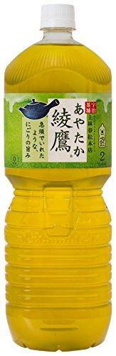 [2CS] コカ・コーラ 綾鷹 お茶 ペットボトル (2L×6本)×2箱