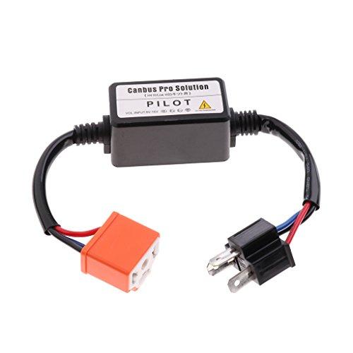IPOTCH Resistencia de Carga de Cableado del Decodificador de Repuesto para Todos Los Camiones (Luces Antiniebla LED