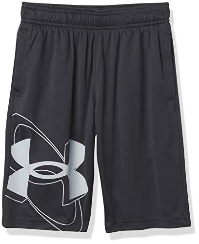 Under Armour Kids Boys' Prototype 2.0 Shorts, Black/Mod Gray, MD (10-12 Big Kids)
